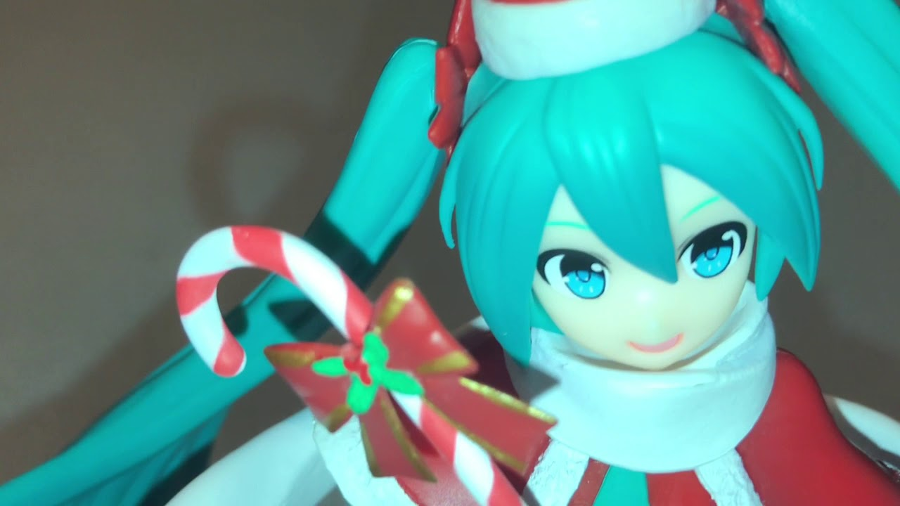 Hatsune Miku Christmas 2018.Christmas 2018 Hatsune Miku Prize Figure Unboxing