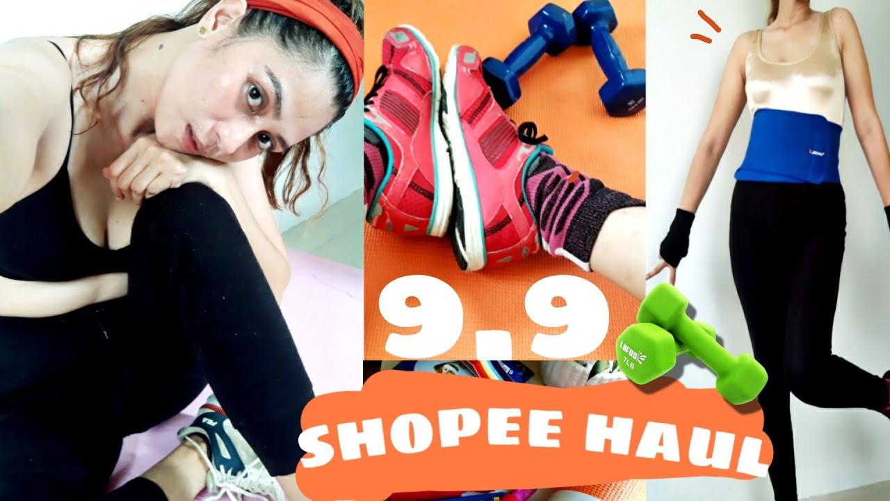 Download MGA PANG WORKOUT HAUL / SHOPEE HAUL / 9.9 SALE / Candy balan