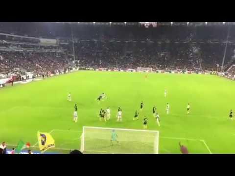 Juventus-Inter 1-0: il gol di Cuadrado visto dagli spalti