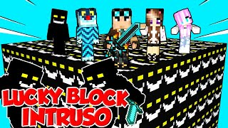 LUCKY BLOCK GIGANTI DELL'INTRUSO SU MINECRAFT!!!