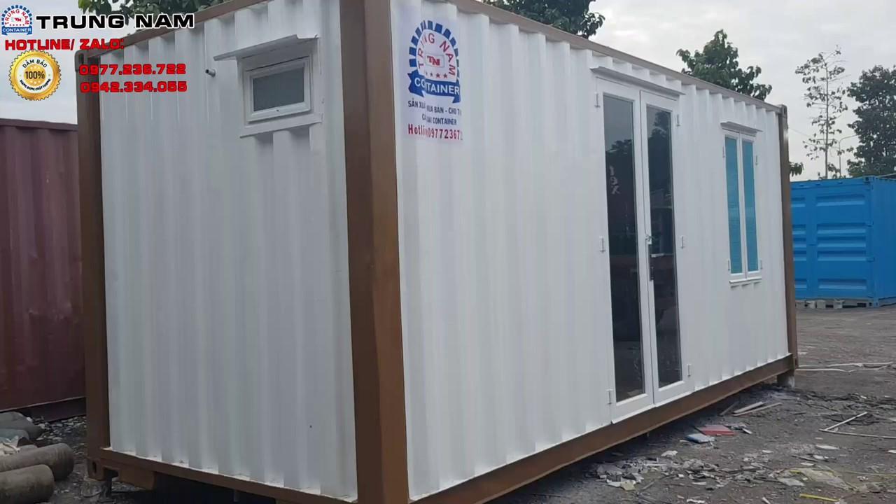 Nhà container 20 feet, Bán nhà container giá rẻ