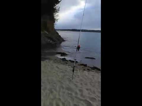 Pêche  saint malo au spot de fours chaud