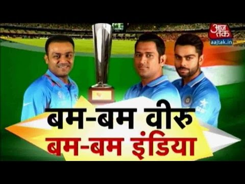 World T20: Virender Sehwag Previews India-Bangladesh Match