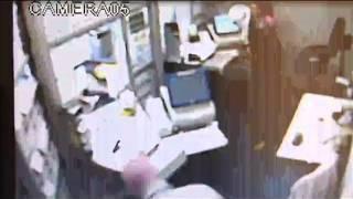 Câmeras de segurança flagram assalto à lotérica em Patrocínio Paulista