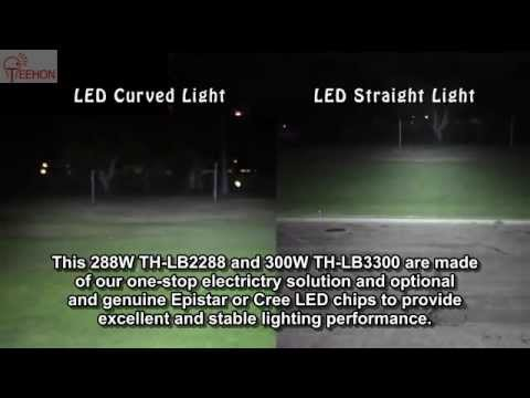 Lighting difference between straight and curved led light bar youtube lighting difference between straight and curved led light bar aloadofball Image collections