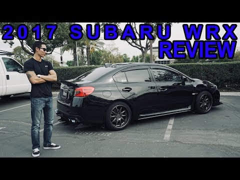 2017 Subaru WRX Review and Ride along