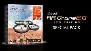 Parrot AR.Drone 2.0 GPS Edition (US Version)