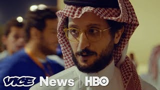 There are no movie theaters in Saudi but there is strong content be...