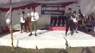 MCA group funny dance