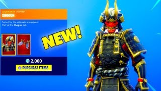 *NEW* SHOGUN Skin Is Out..! (ONI SAMURAI New Item shop) Fortnite Battle Royale