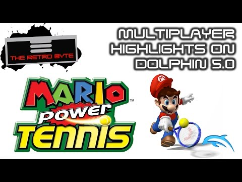 Mario Power Tennis (GC) - Dolphin Emulator Wiki