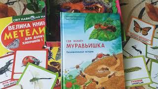 Книга Где живет муравьишка | муравейник | творчество | поделка для детей | Фридерун Райхенштеттер