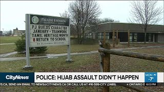 Police say hijab cutting incident didn't happen