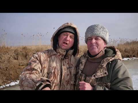 Диалоги о рыбалке. Астрахань. Зимняя рыбалка у села Калинино
