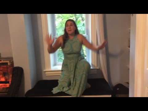 Nicole Brenner (audition take) singing Everything and More from the musical Twisted
