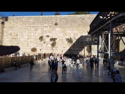 The interesting story of the Western Wall (the Wailing Wall) in Jerusalem, Israel