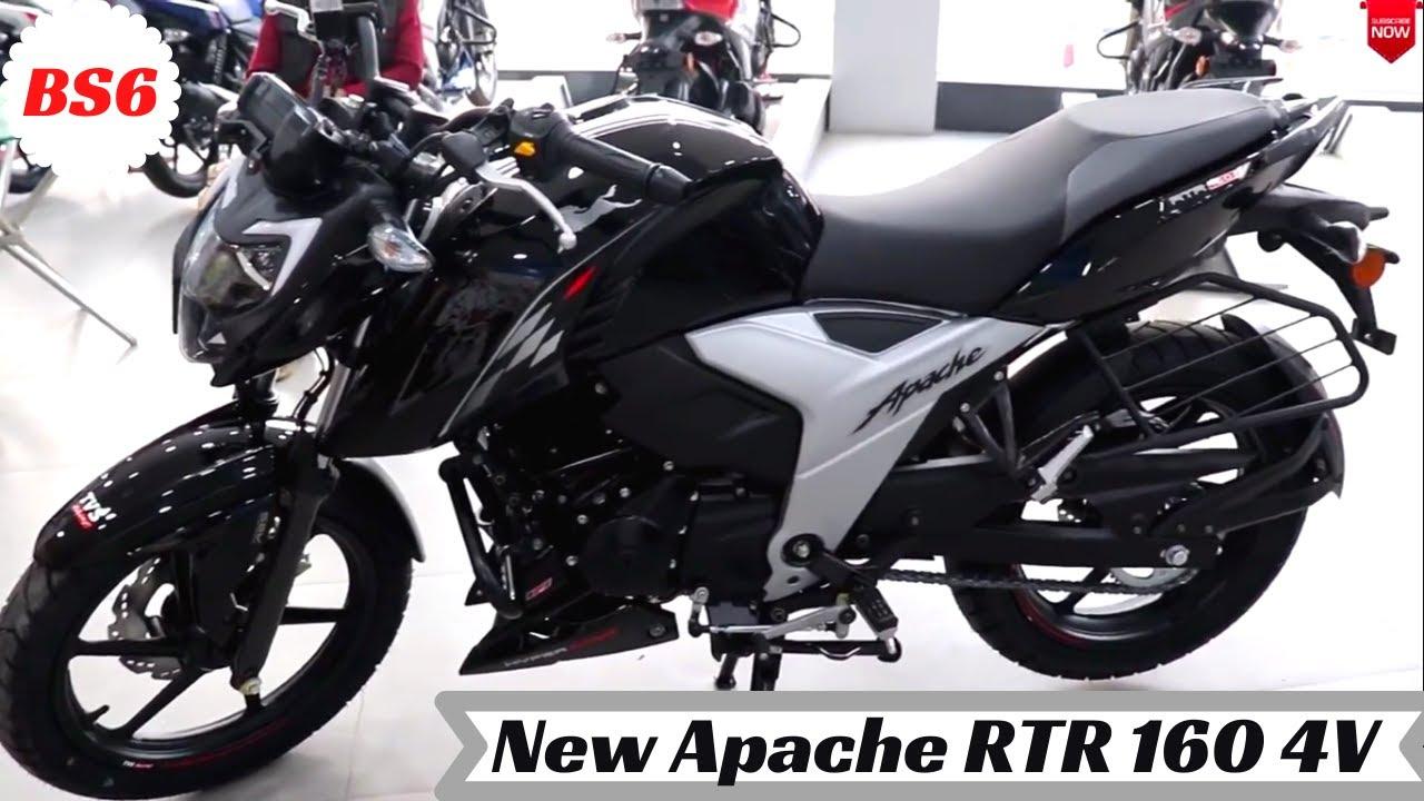 video TVS Apache RTR 160 4V