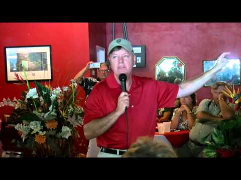 Senator Lindsey Graham brings presidential campaign to Murrells Inlet