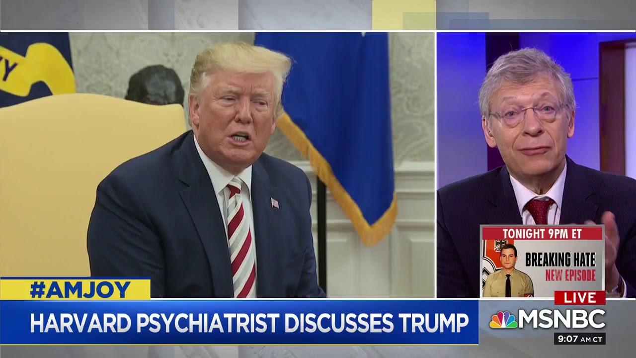 Harvard Psychiatrist: Trump Seeks Validation From The World's Worst Dictators