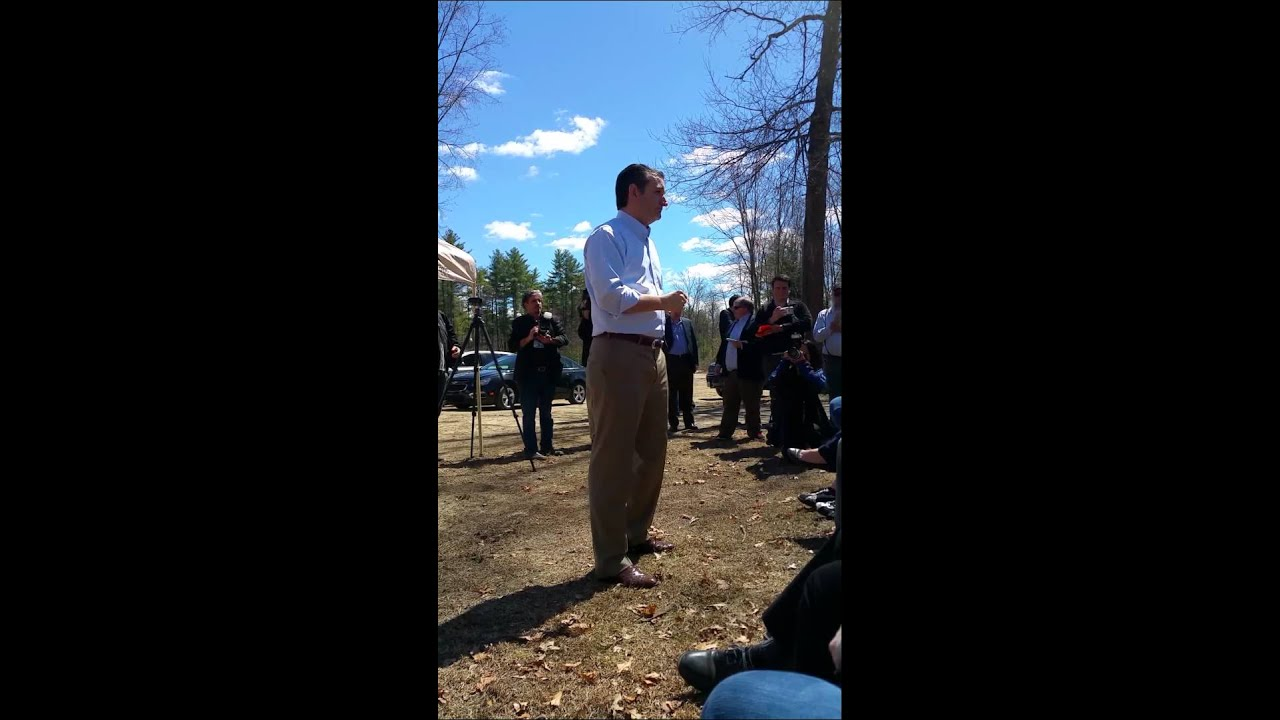 Ted Youtube: Ted Cruz At The Londonderry Fish And Game Part 1