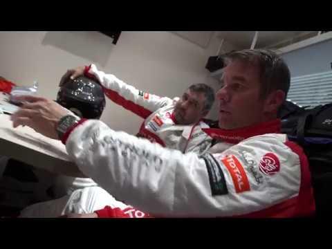 Sebastien Loeb Testing The Citroen C3 Wrc
