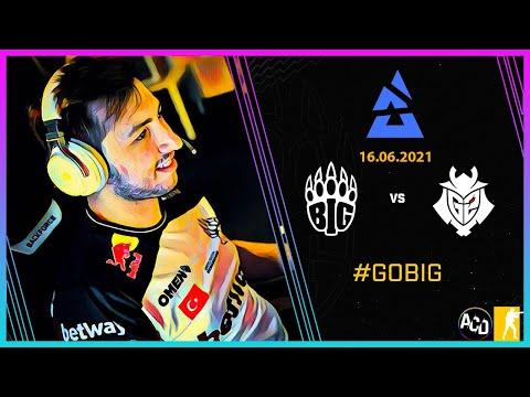 Yeni Turnuvadaki İlk Rakip Fransızlar! / BIG vs. G2 / BLAST Premier Spring Final 2021