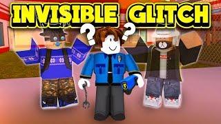 NEW INVISIBLE GLITCH TROLLING! (ROBLOX Jailbreak)