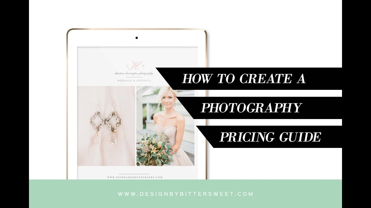 How to Create a Pricing Guide Magazine in Photoshop for Your Photography  Studio