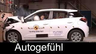 Hyundai i20 Crash Test 2015/2016 4 stars Euro NCAP - Autogefühl