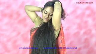 LongHairFashion Introducing New Long Hair DIva with Her Silky Shiny Beautiful Attractive Hair