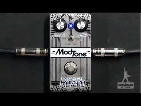 MODTONE COLISEUM REVERB GUITAR PEDAL REVIEW - GearUP on TMNtv !
