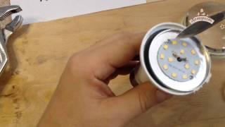 видео Светодиодная лампа X-Flash Bulb E27 10W