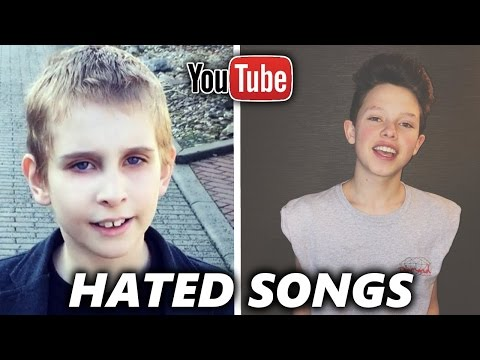 TOP 5 Most HATED YouTuber Songs ( Jacob Sartorius, Misha Silenosti )