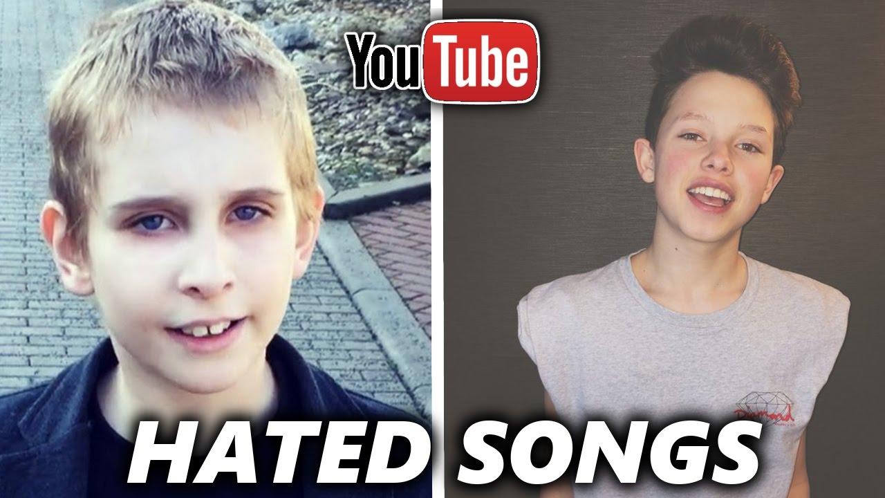 Top 5 Most Hated Youtuber Songs Jacob Sartorius Misha Silenosti