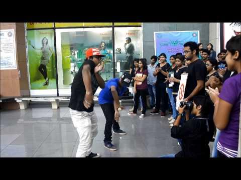 Flashmob & Nukkad by KIIT NSS team PARIVARTAN on Anti- Bullying