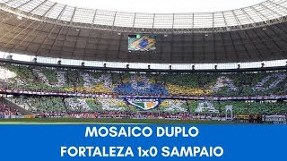 MOSAICO DUPLO FORTALEZA 1x0 SAMPAIO CORRÊA | RUMO AO HEXA (HD)