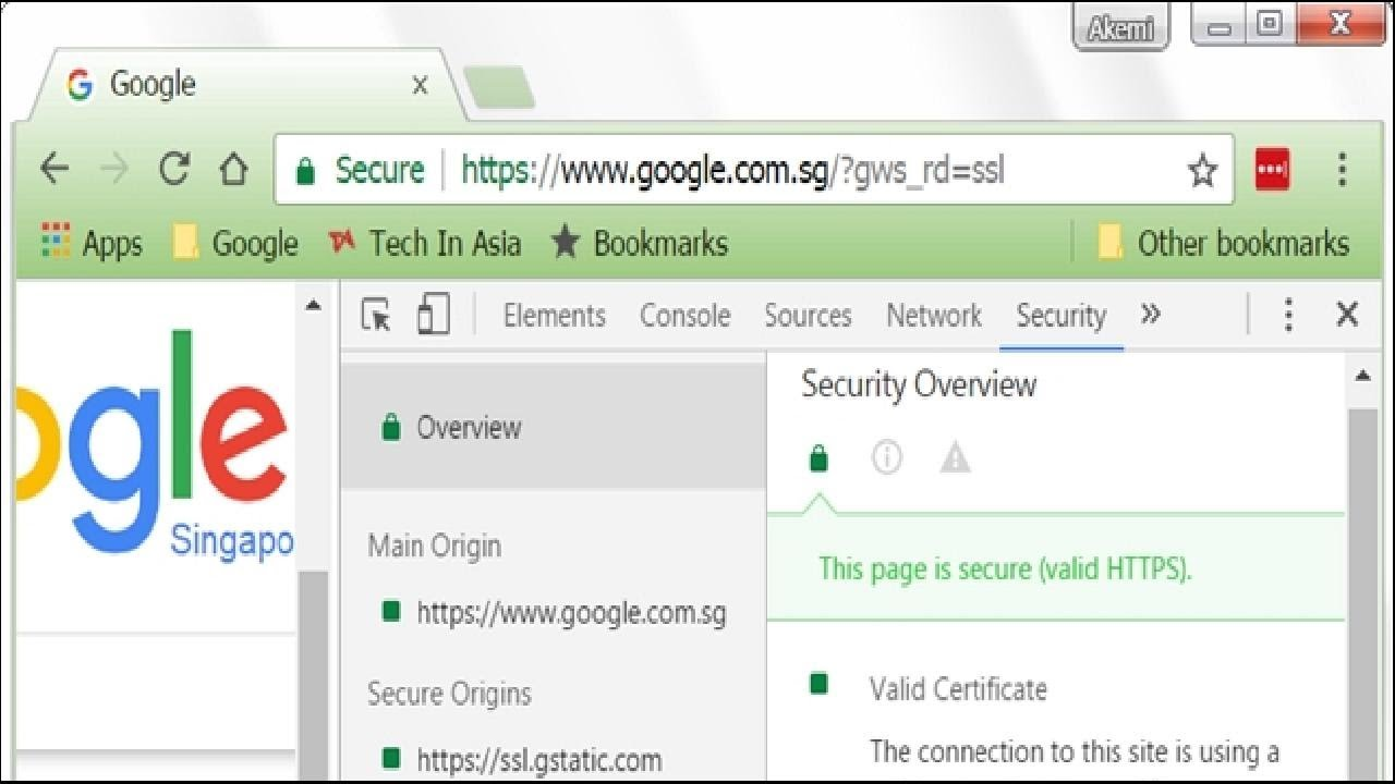 How Do You View Ssl Certificate Details In Google Chrome Youtube