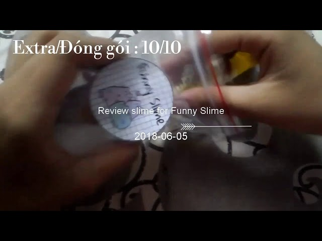REVIEW SLIME FOR FUNNY SLIME (Meo Ân)