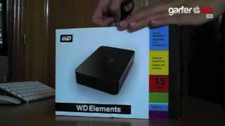 Unboxing Western Digital Elements 1'5 TB External Hard Drive | WD Elementes desempaquetado
