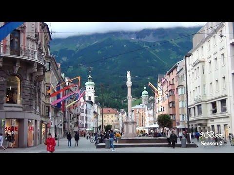 เที่ยวออสเตรีย อินสบรูค Innsbruck Part 1