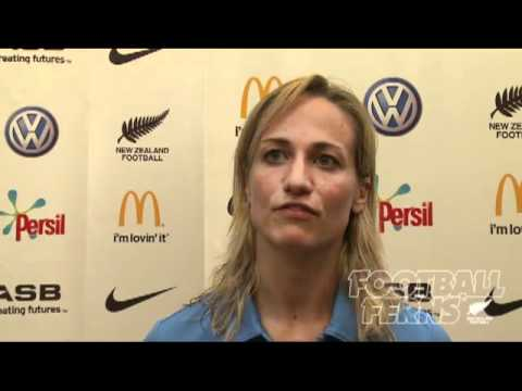 Football Ferns captain Rebecca Smith on Japan game