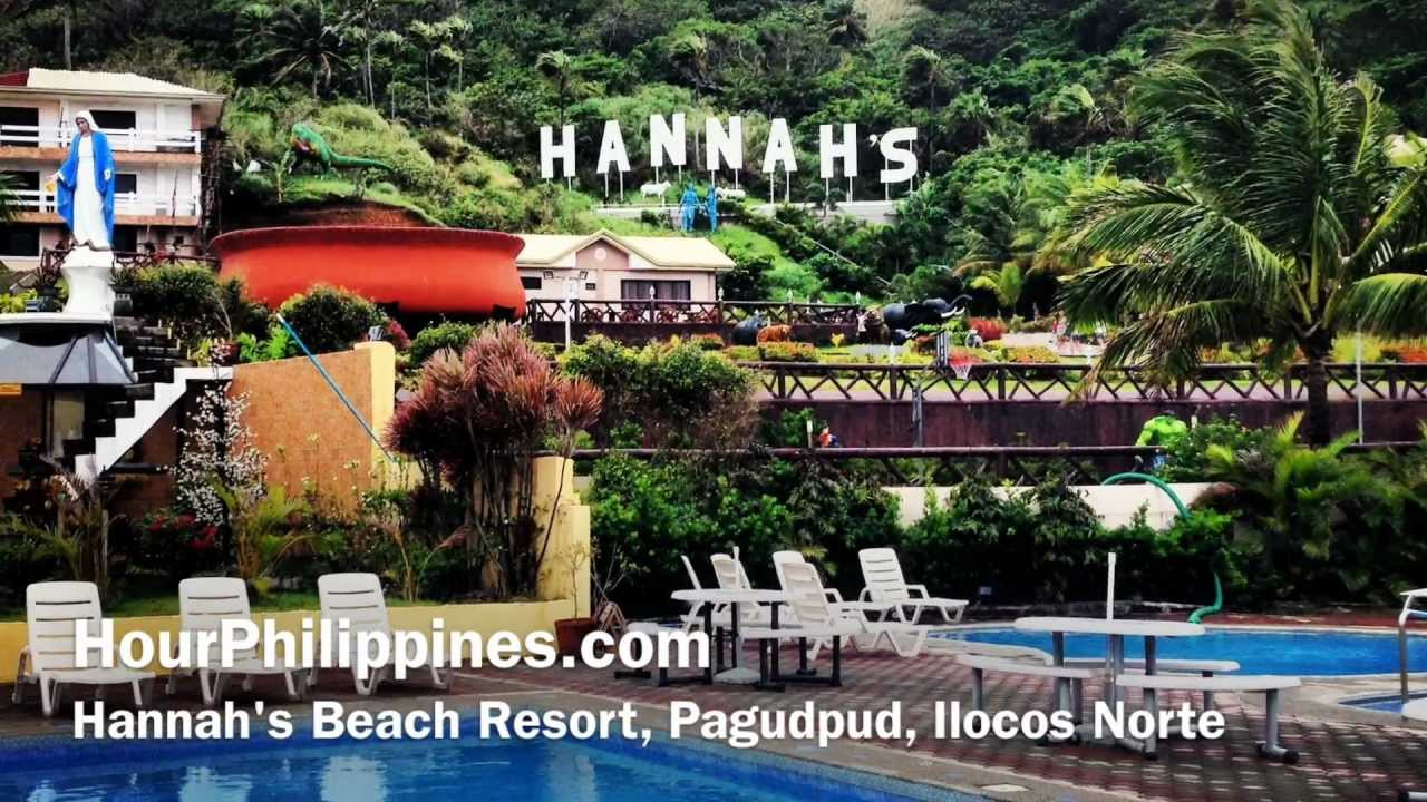 Hannahs Beach Resort Pool Blue Lagoon Pagudpud Ilocos Norte By Hourphilippines Com Youtube