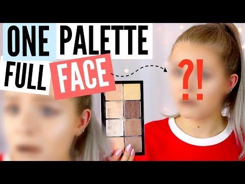 FULL FACE USING ONE PALETTE!? | sophdoesnails