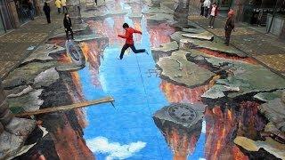 Video Amazing 3D Street Art Illusion Compilation download MP3, 3GP, MP4, WEBM, AVI, FLV Juli 2018