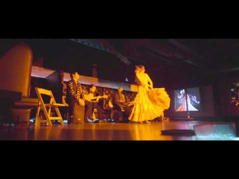 "Cafe Sevilla Flamenco Dancers Performing in the ""Art Of Flamenco"" Dinner Show"
