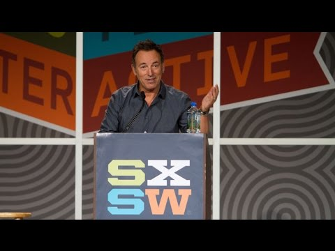 Bruce Springsteen - 2012 SXSW Keynote Address