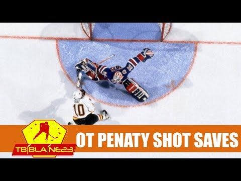 NHL Overtime Penalty Shot Saves