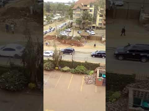 Raila convoy after judge gives verdict