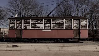 Блокадный трамвай на проспекте Стачек, Санкт-Петербург.