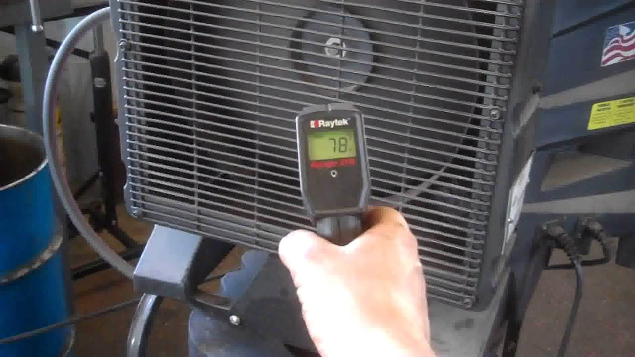 evaporative cooler port a cool review swamp cooler cool your shop building youtube - Portacool